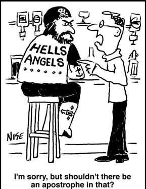 Image result for grammar error cartoon
