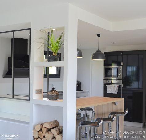 Décoration et aménagement d\u0027un séjour / cuisine de 60m2, Brive-la
