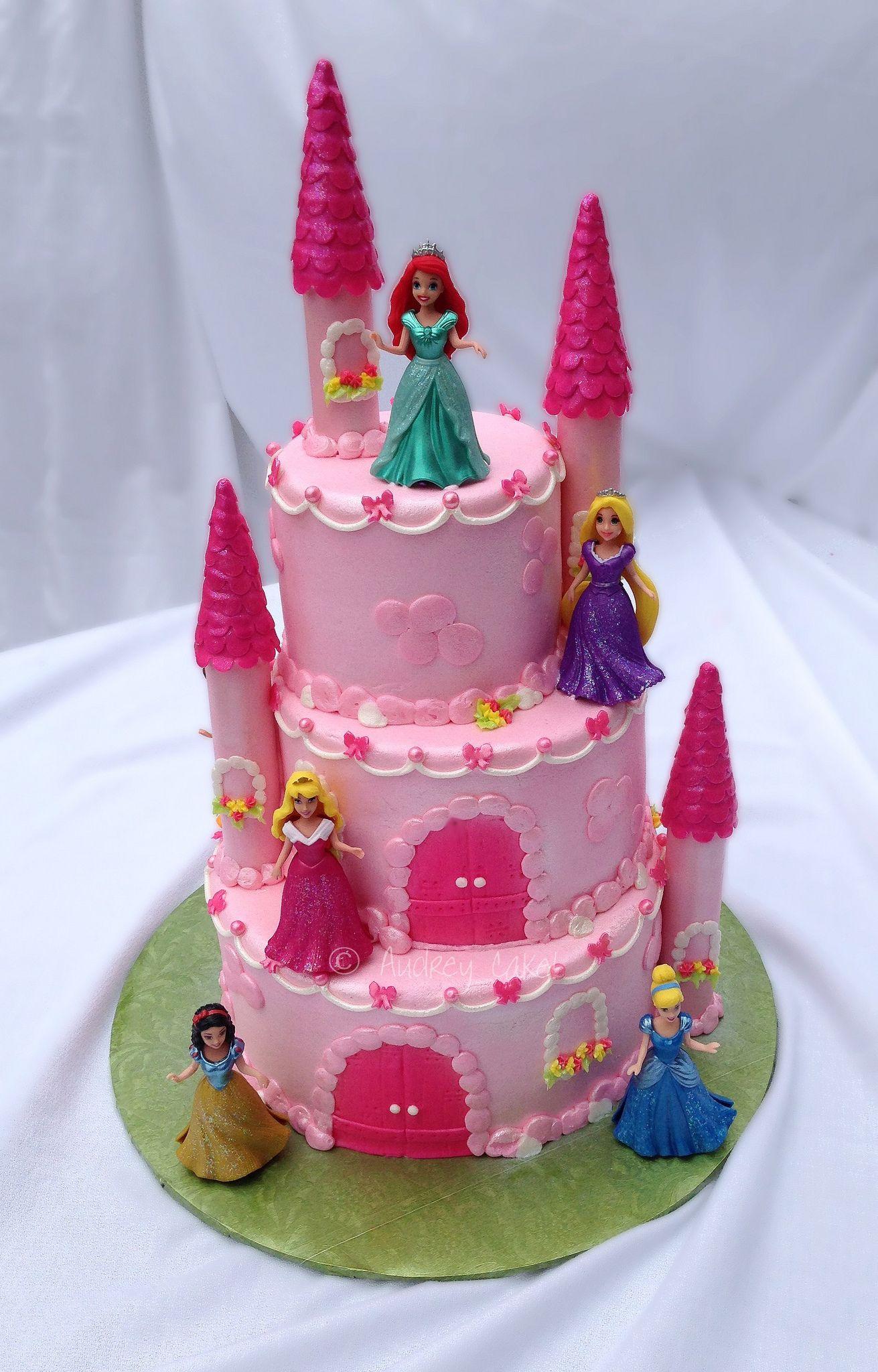 Disney Princess Castle Cake Cake Designs Disney Princess