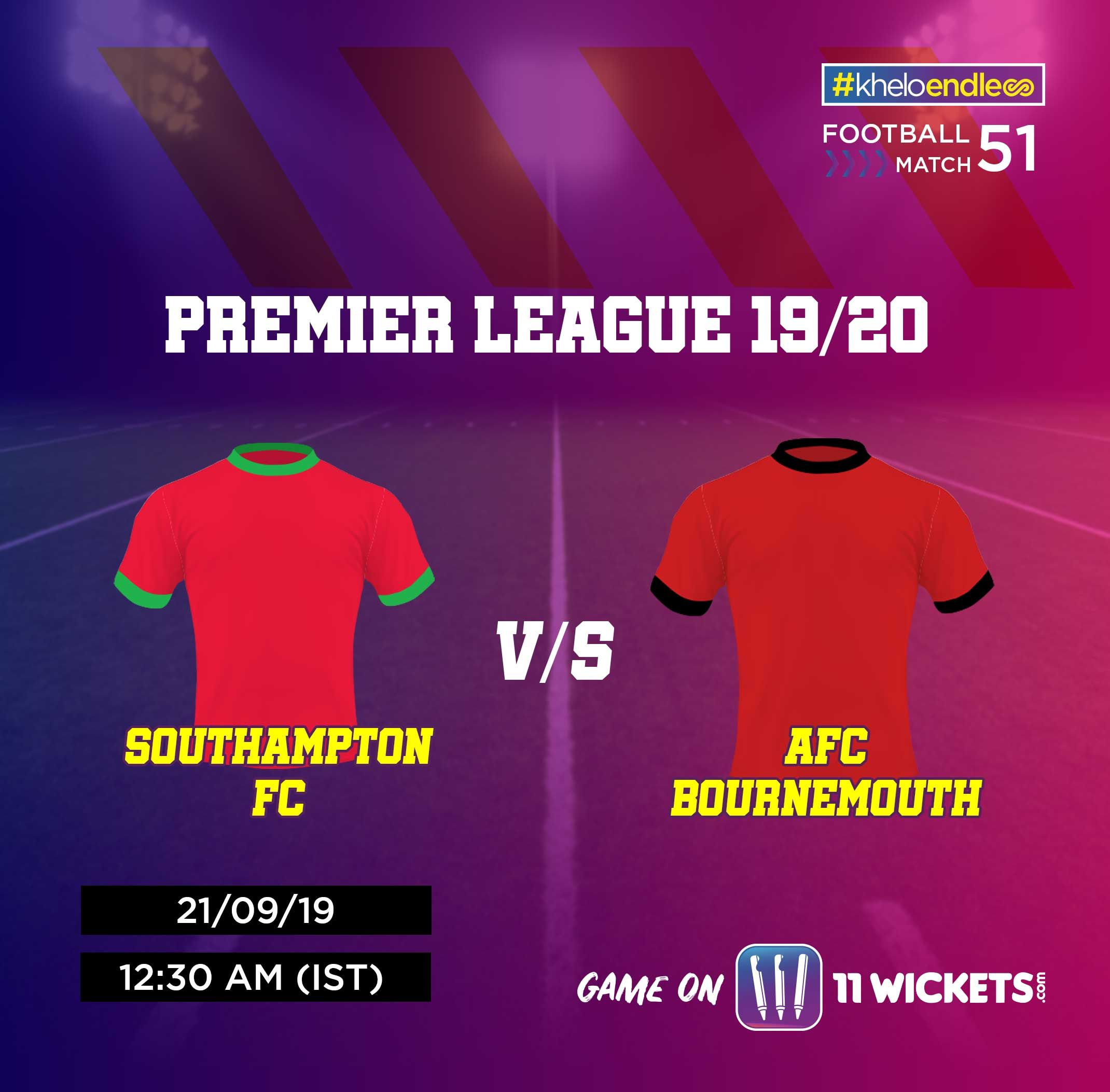 Premier League, 19/20 | Match 51 Get covered with Football fever along with  Join the midnight clash from Premier League 19/20 with your squad now!