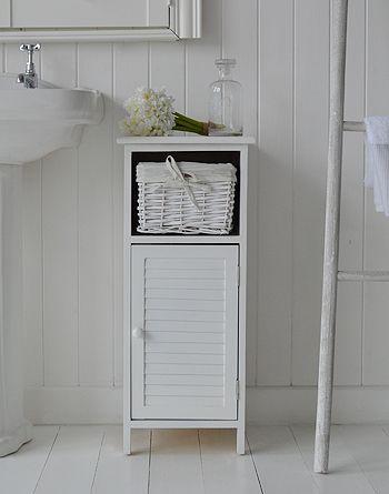 furniture freeport narrow white bathroom cabinet 30cm wide - Bathroom Cabinets 30cm Wide