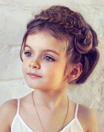 50 Easy Wedding Hairstyles For Little Girls Flower Girl Hairstyles Simple Wedding Hairstyles Kids Hairstyles