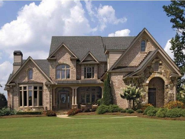 floor plan 2 story 4 bedroom bonus room all 4 bedrooms have private attached bathroom brick house plansfrench country - Country House Plans
