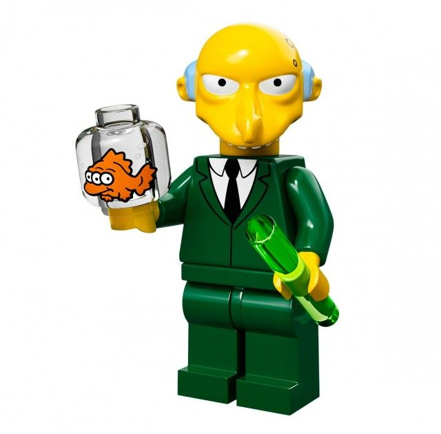 genuine lego minifigures the itchy from simpsons series 1