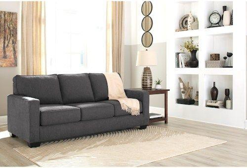 Signature Design By Ashley Zeb Queen Sofa Sleeper With Memory Foam Mattress  #MemoryFoamIdeas