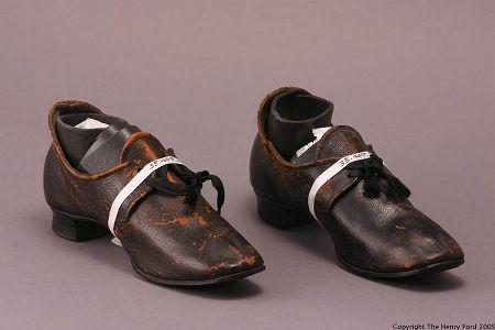 Shoes -  c 1875