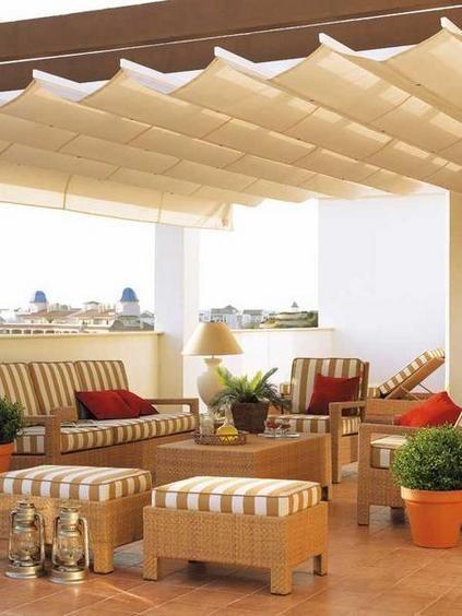 Estilos y muebles de exterior para espacios al aire libre for Terraza decoracion apartamento al aire libre