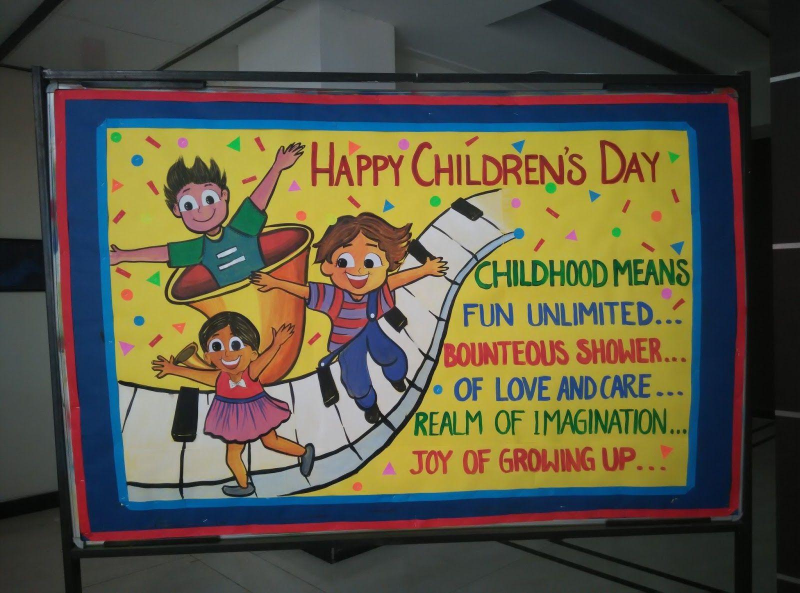 Stage Decorations Image By Yamuna Arora Children S Day School
