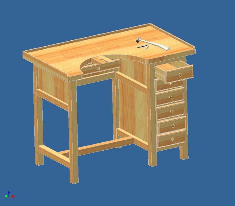plan tabli de bijoutier suite la pr sentation de micka pinterest tablis. Black Bedroom Furniture Sets. Home Design Ideas