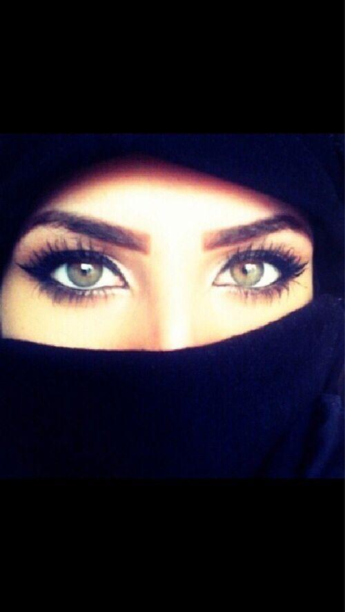 Aiza Khan Niqab Eyes Arab Beauty Beauty Eyes