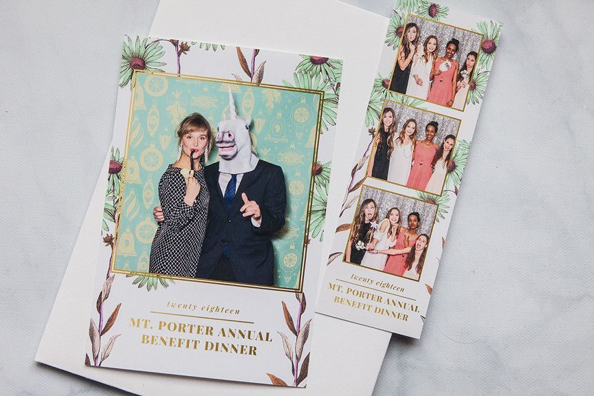 Photo Booth Templates: Botanical Collection | Photo booth ...