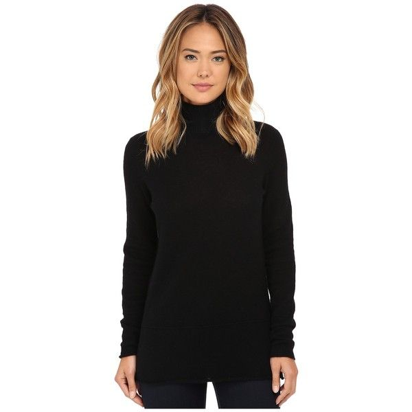 Culture Phit Seam Details Cashmere Turtleneck Women's Sweater ...
