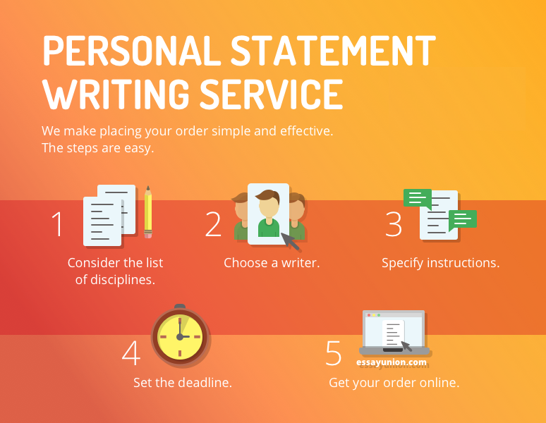 Personal statement writing services
