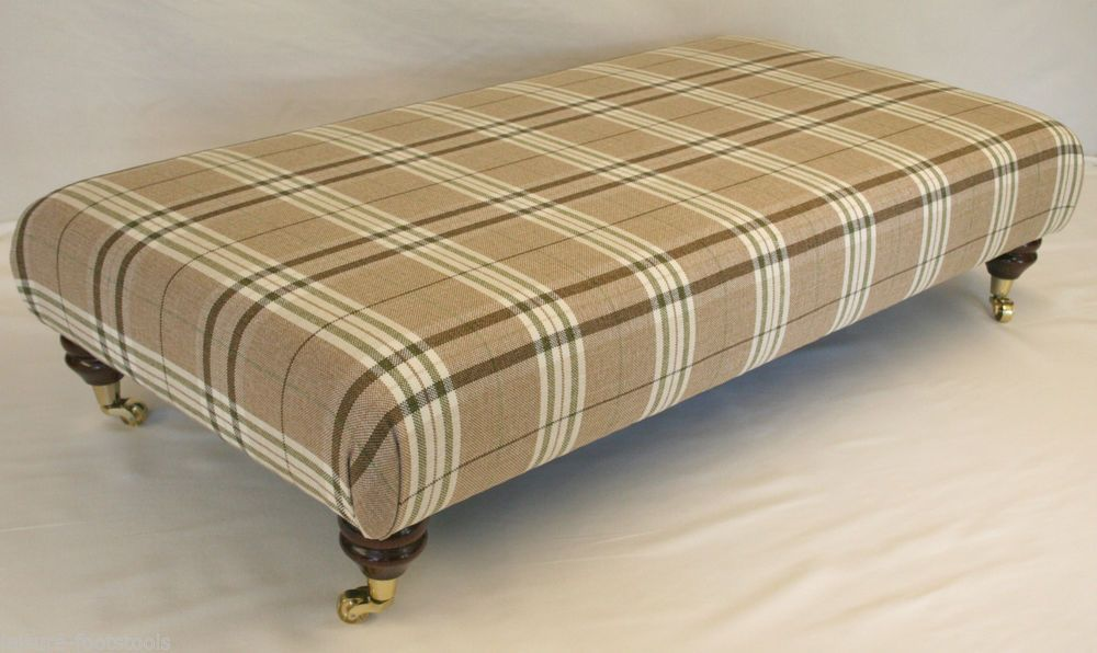 Swell Details About Extra Large Modern Tartan Olive Tan Theyellowbook Wood Chair Design Ideas Theyellowbookinfo