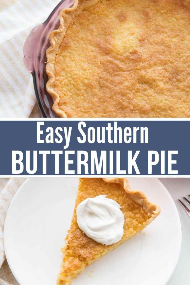 Best Buttermilk Pie Recipe Buttermilk Pie Easy Pie Recipes Southern Buttermilk Pie