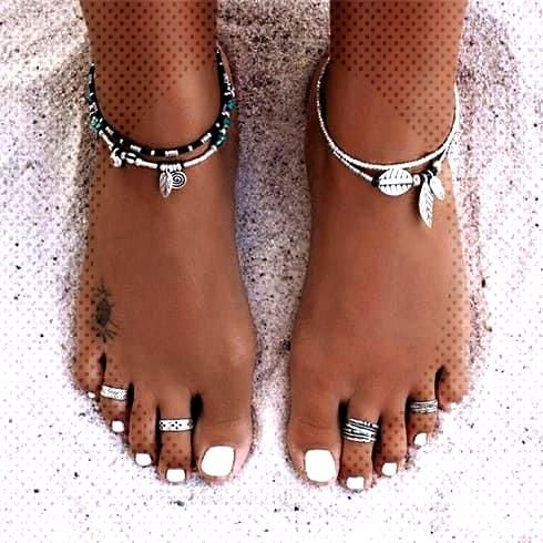 25 pairs of toe rings that feel effortlessly chic - fashion, jewelry, make-up, shoes, tattoo models