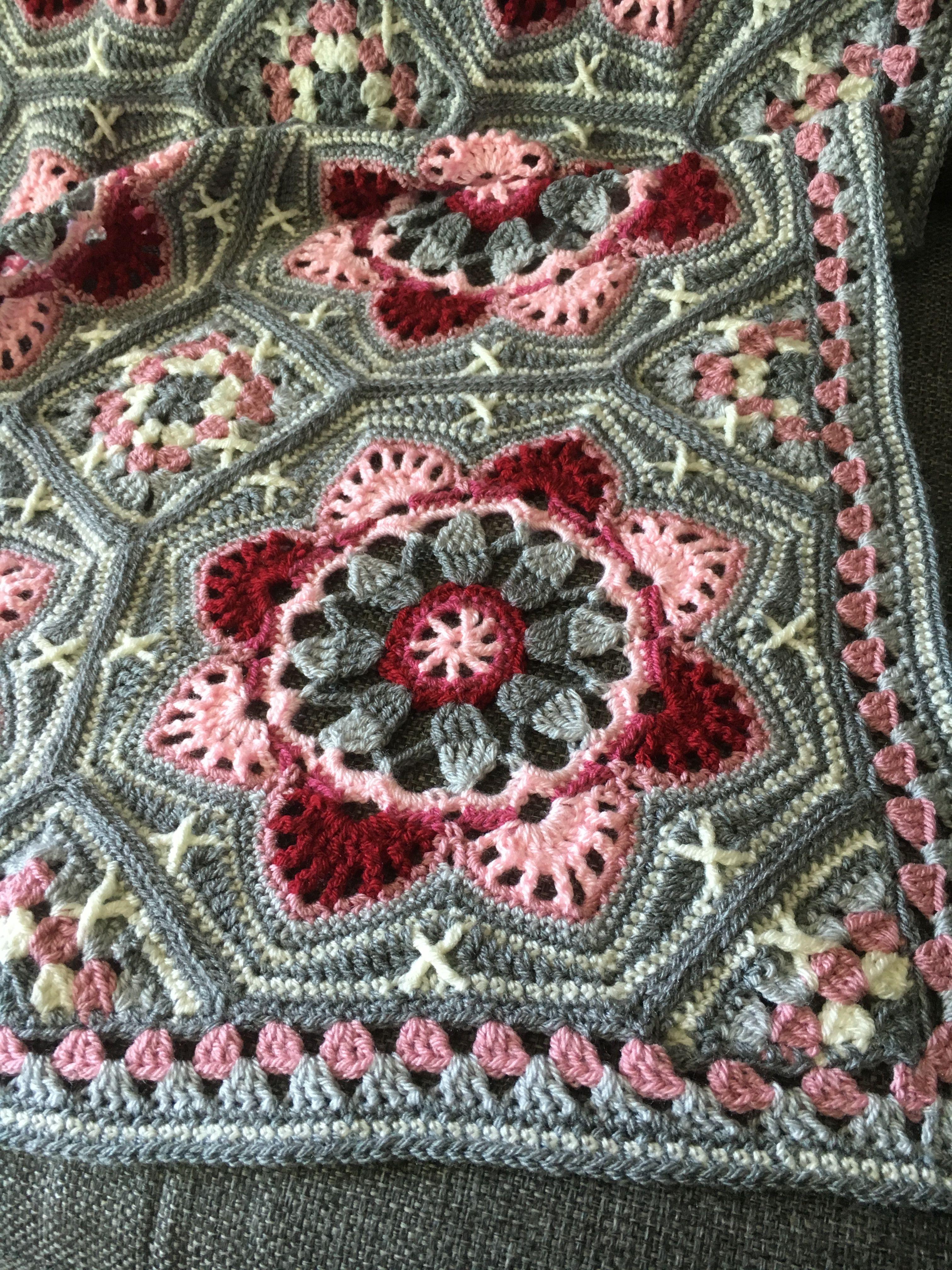 Persian Tile Deken Haken Pinterest Crochet Crochet Patterns