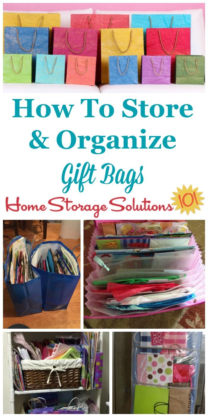 Ideas To Store Amp Organize Gift Bags In 2020 Gift Bag