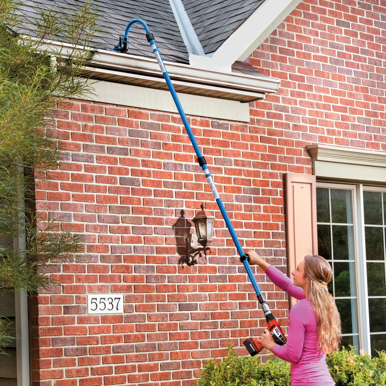 Guttersweep rotary gutter cleaning system the easy way to