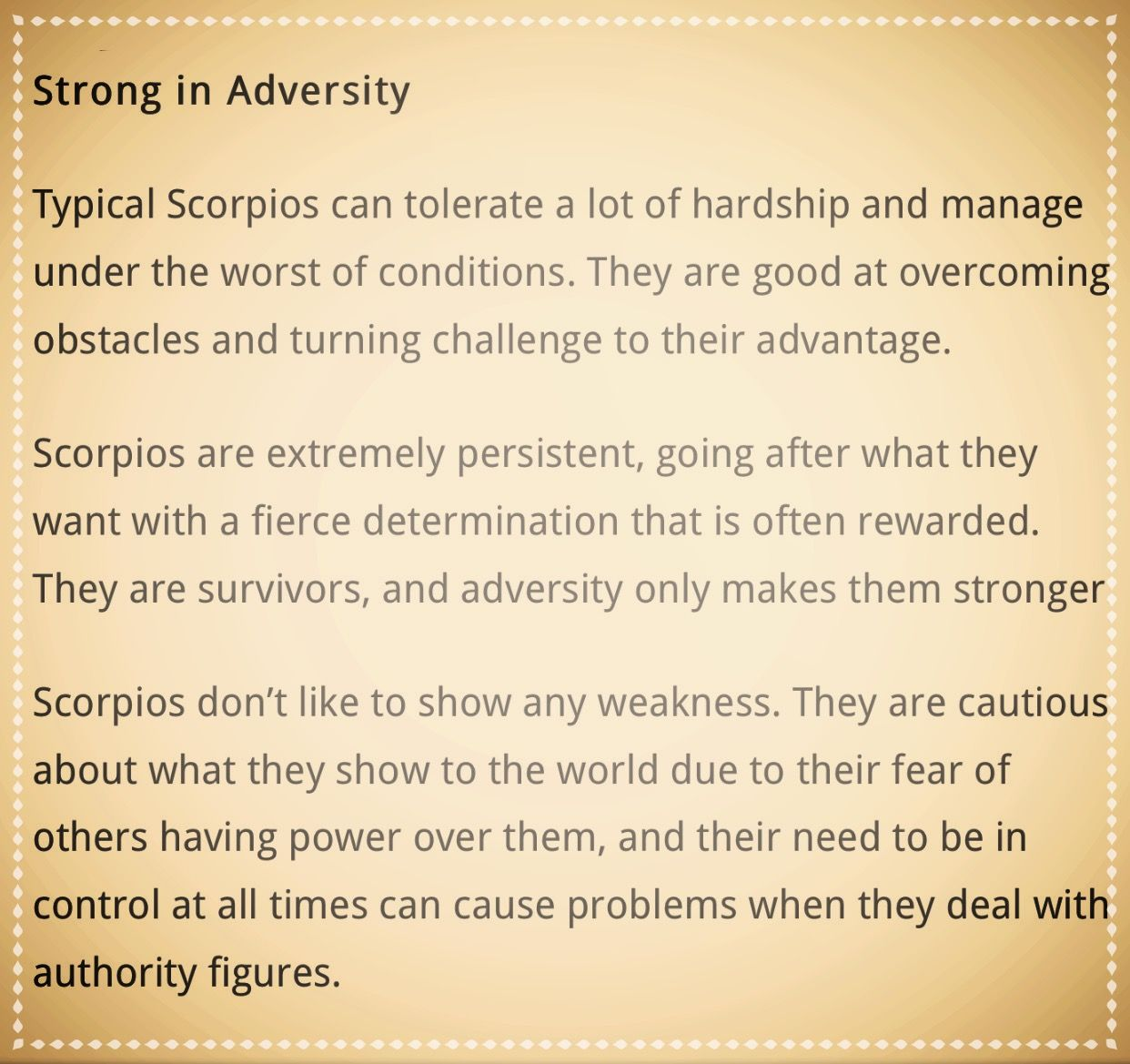 Scorpio Moon Traits