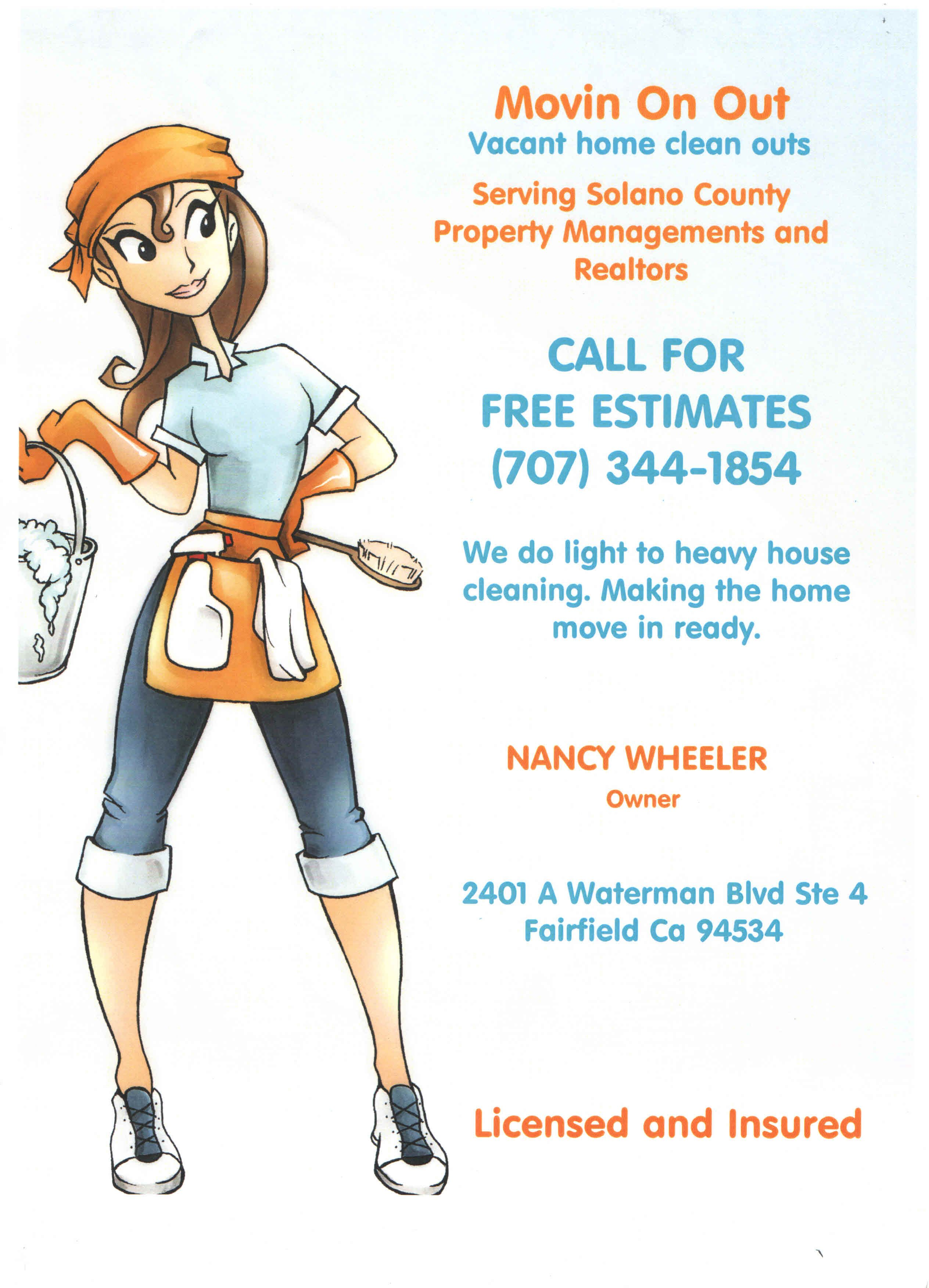 Housekeeping Flyers | Flyer answers faster at ask office cleaning ...