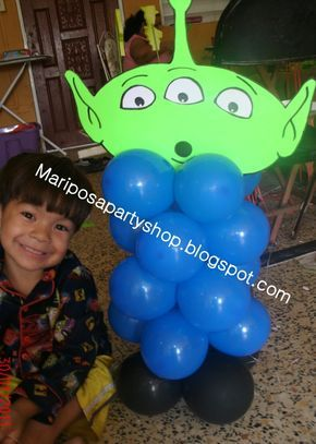 Toy Story Balloon Alien In 2020 Toy Story Birthday Toy Story