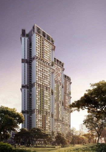 SkyVille @ Dawson / WOHA Singapore, Architecture and Facades
