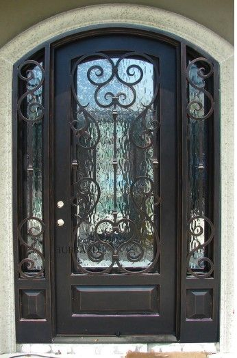 Iron Front Door Iron Front Door Wrought Iron Front Door Pella