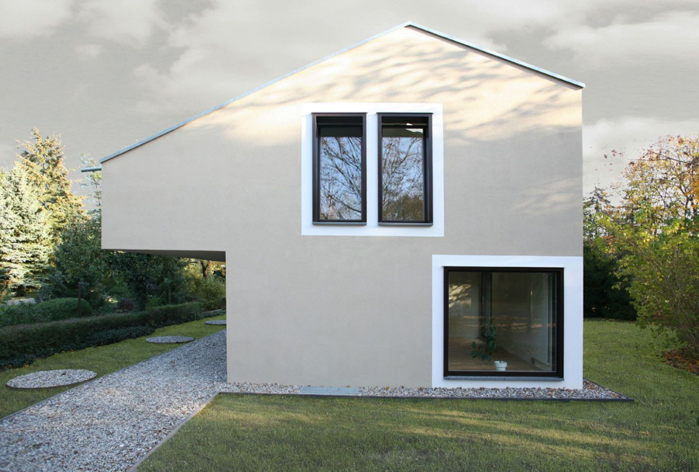 Modernes bungalow innenarchitektur wohnzimmer aff architekten  haus zeimer  divisare  architecture  pinterest
