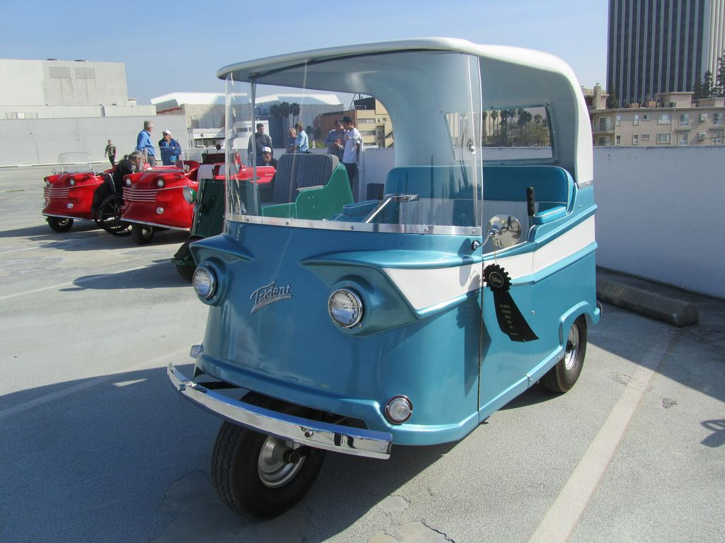 Trident by Taylor Dunn 1959 Small cars, Electric golf