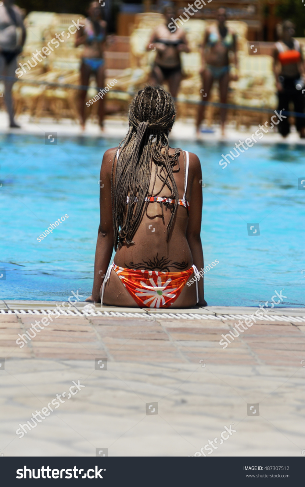 Photo of Transitional decor  #Tropical #hotel Tropical pool hotel, Tropical pool paradise…