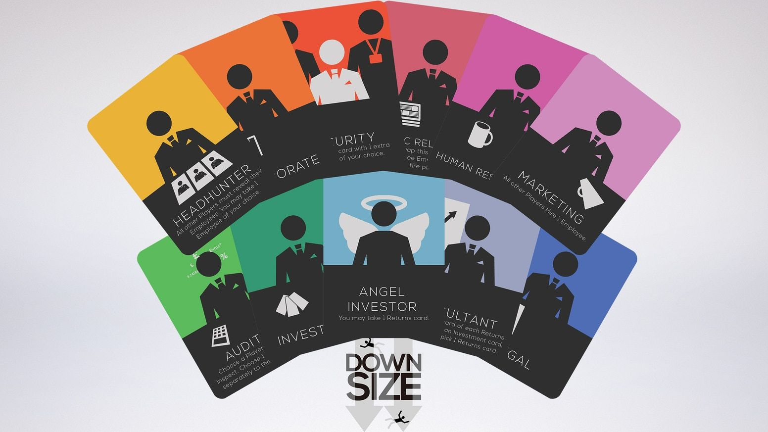 Downsize A Competitive Card Game For 2 6 Players By Lewis Shaw