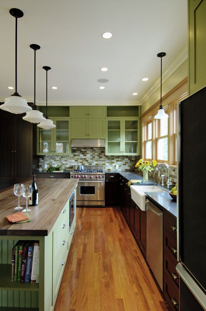 15 kitchens with bright green cabinets green cabinets we and the