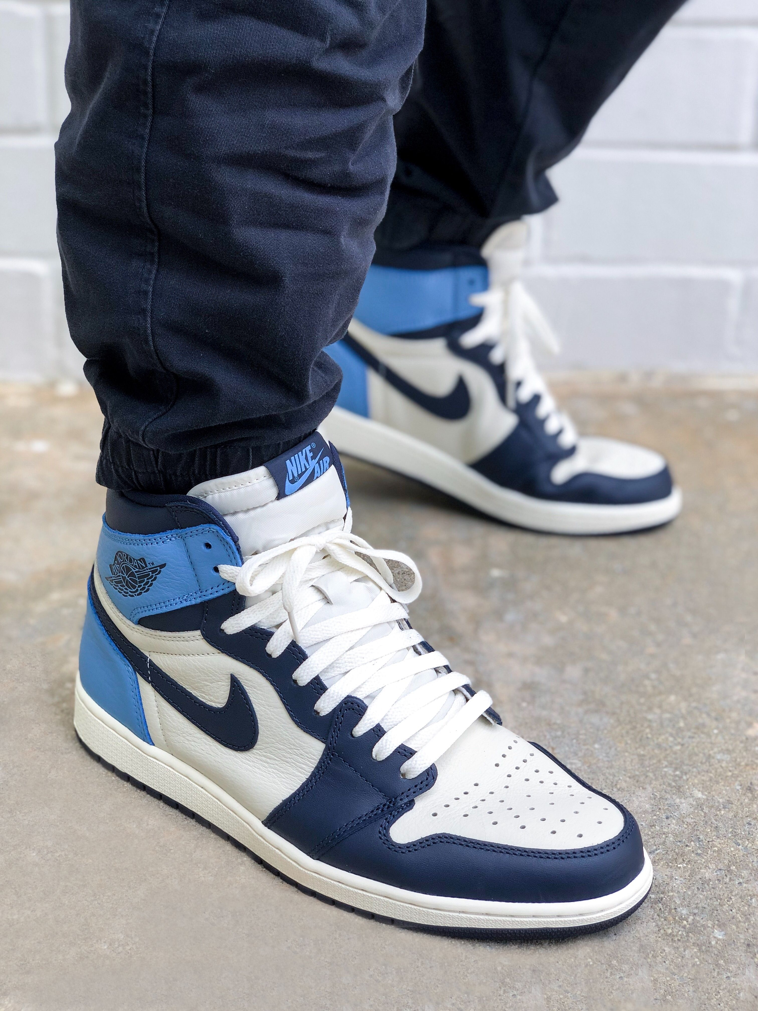 Where to buy shoe laces for the Air Jordan 1 UNC Obsidian