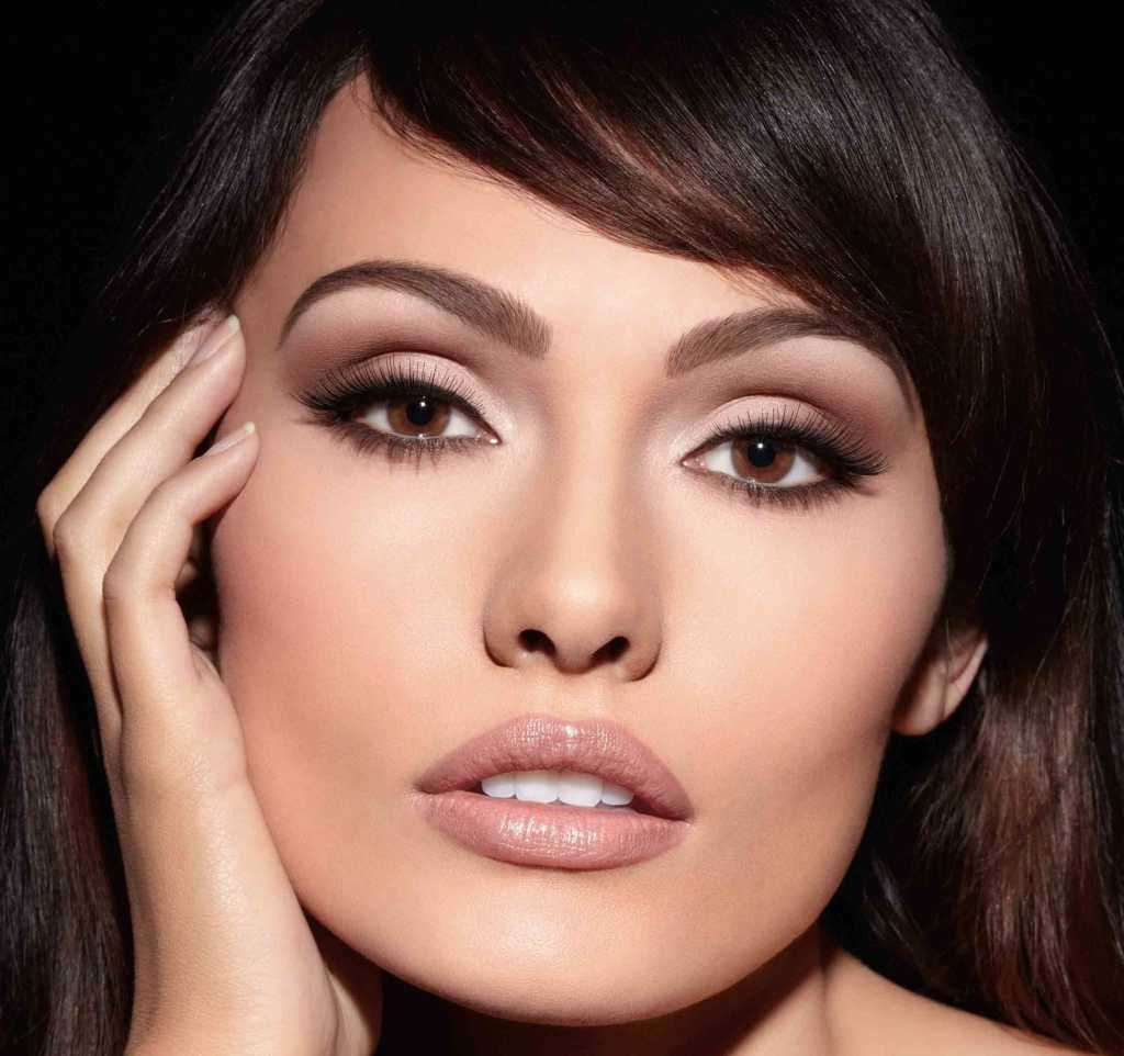 evening makeup for dark hair and brown eyes :: one1lady