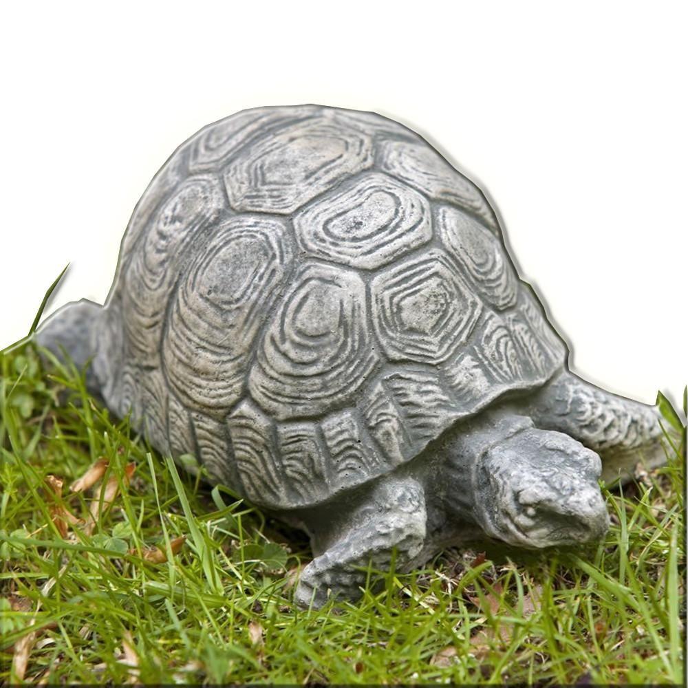 Turtle Small Cast Stone Garden Statue Stone garden