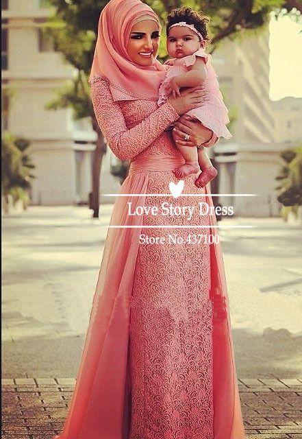 4157743abdd3 Abaya Dubai Kaftan Muslim Arabic Evening Dresses with Hijab Long ...