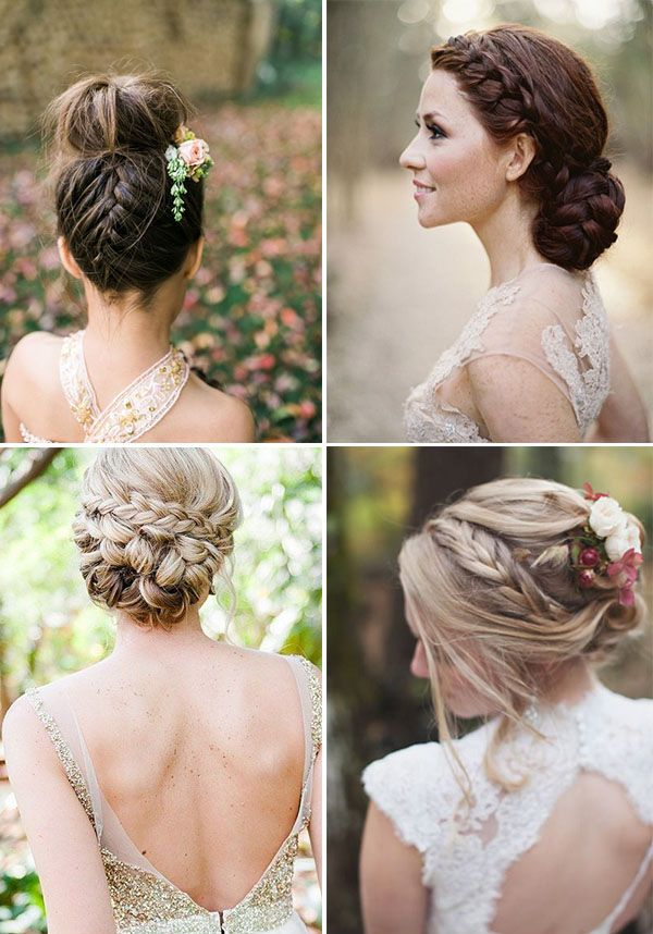 Preferenza Trecce per la sposa | Updo, Wedding and Hair style UH67