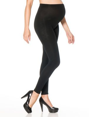 7bcc71ccc98e5 Destination Maternity Fleece Lined Legging | Maternity stylin ...