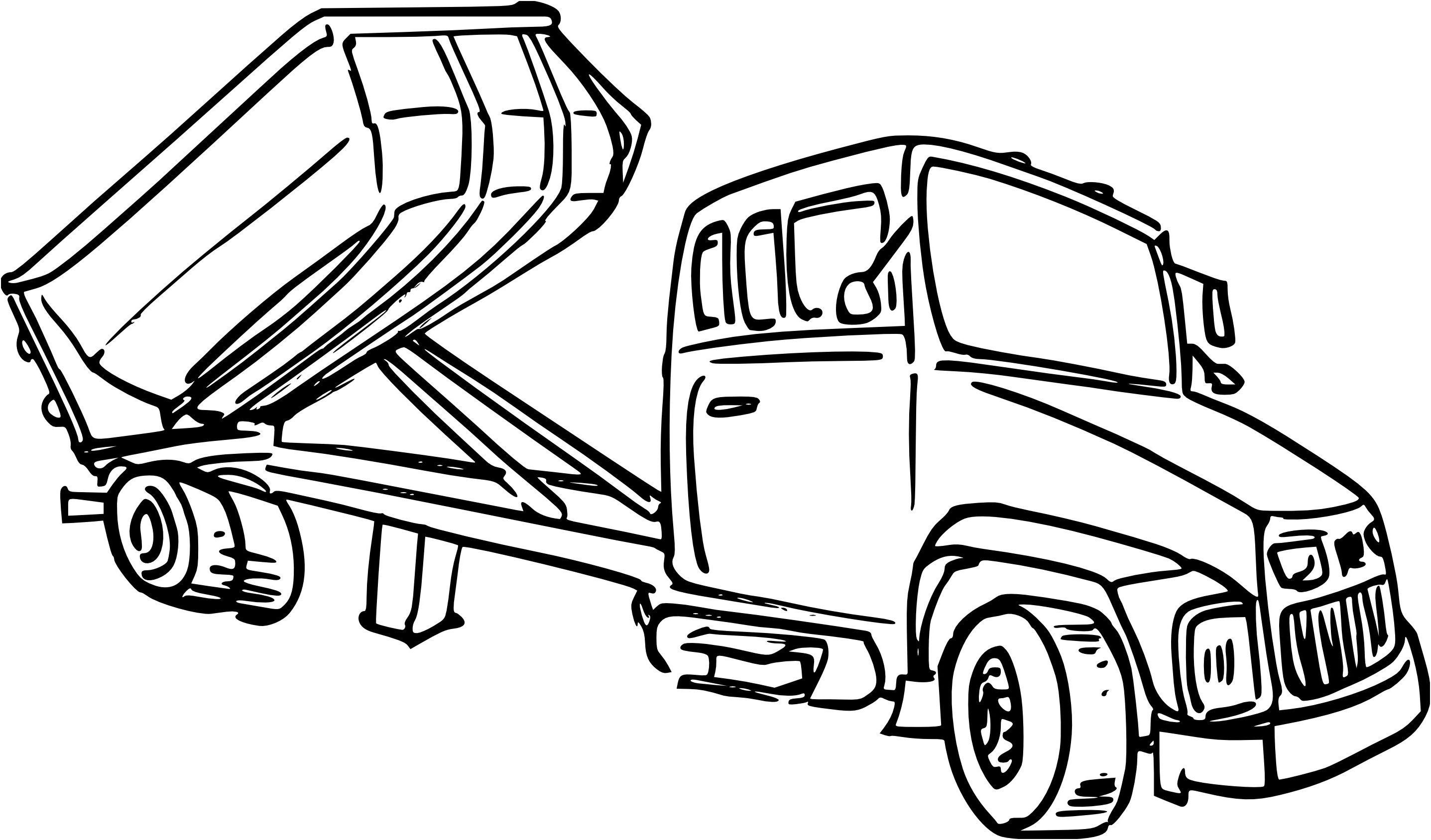 coloriage camion benne et dessin #coloriagecamionbetonaimprimer #coloriagecamionbetonniere # ...
