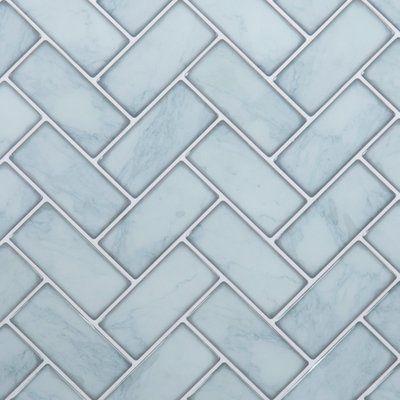 Pin By Rachel F On Lake Home Ideas Herringbone Wall Tile Herringbone Wall Stick Tile Backsplash