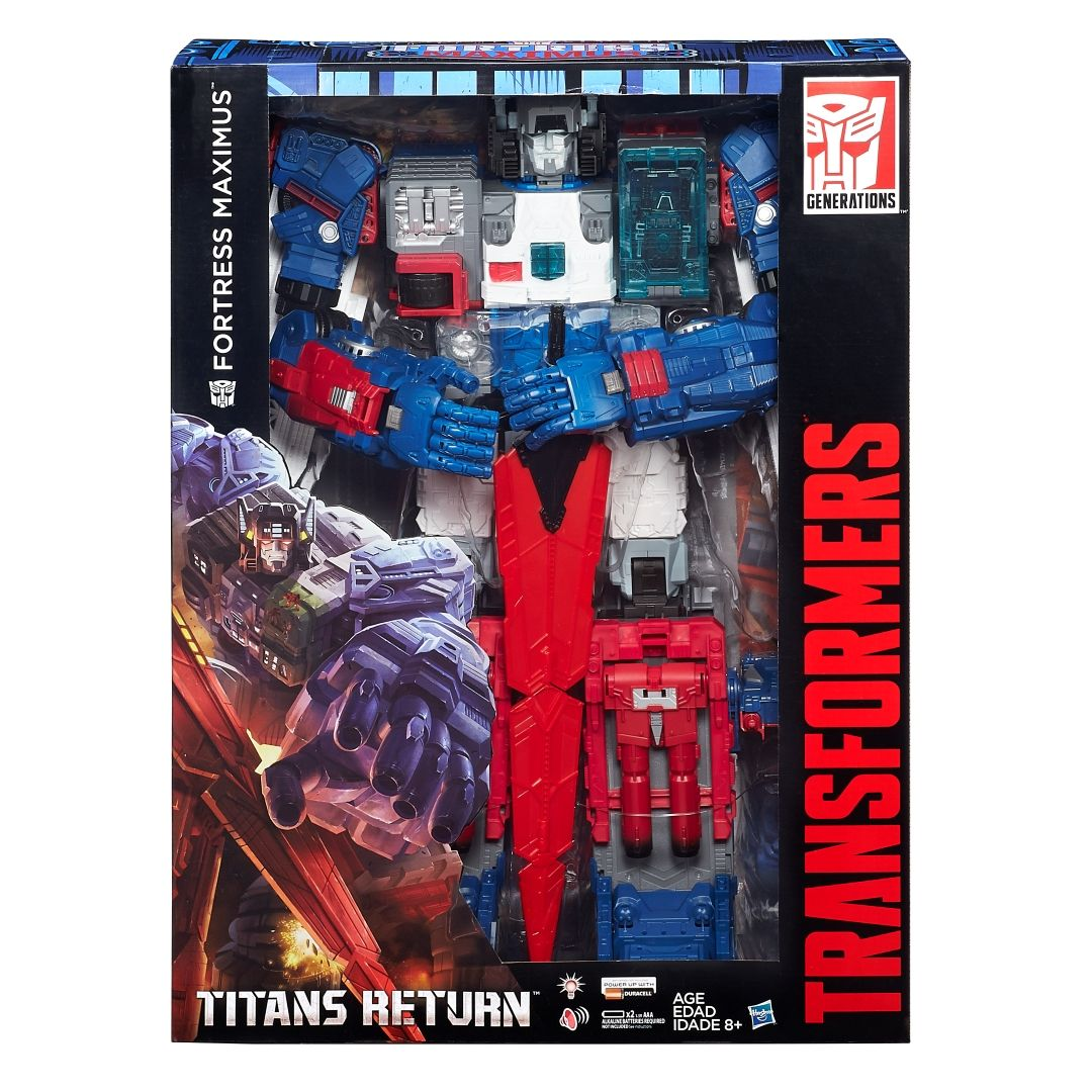 Transformers titans return sdcc 2016 special edition fortress maximus with master sword