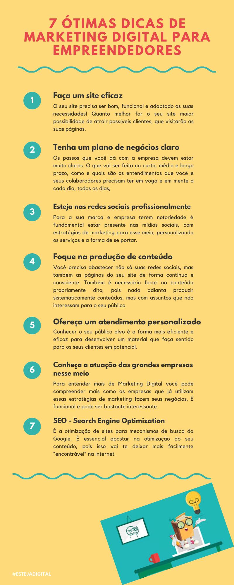 7 Ótimas Dicas de Marketing Digital para Empreende...