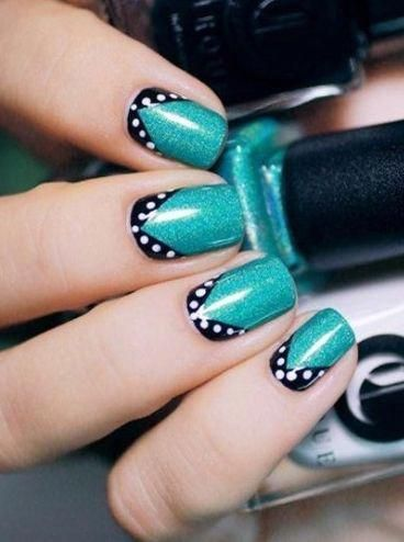 nail designs summer sparkle nailcolorideassummer with