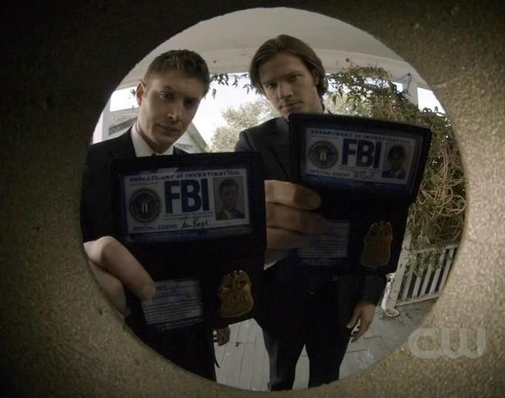 I D Answer If These Fbi Were At My Door Supernatural