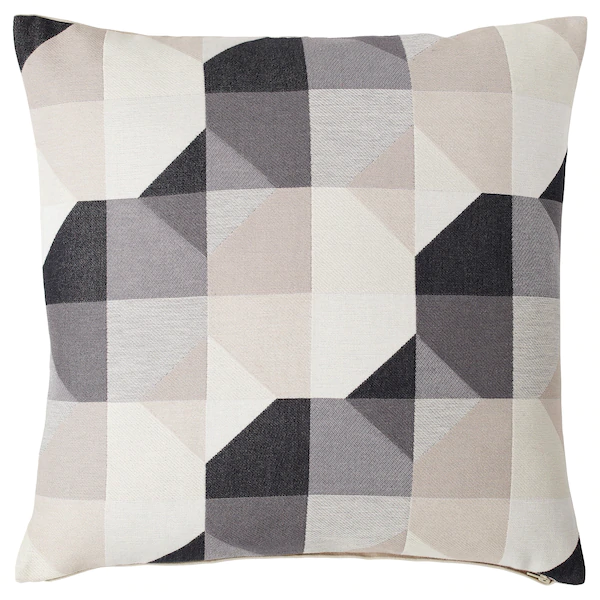SVARTHÖ beige, Cushion cover, 50x50 cm IKEA in 2020