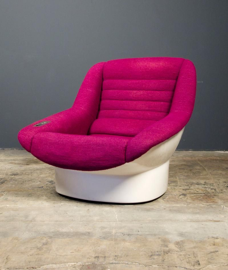 Cesare Casati and Enzo Hybsch; Fiberglass Frame 'Alda' Lounge Chair for Comfort, 1966.