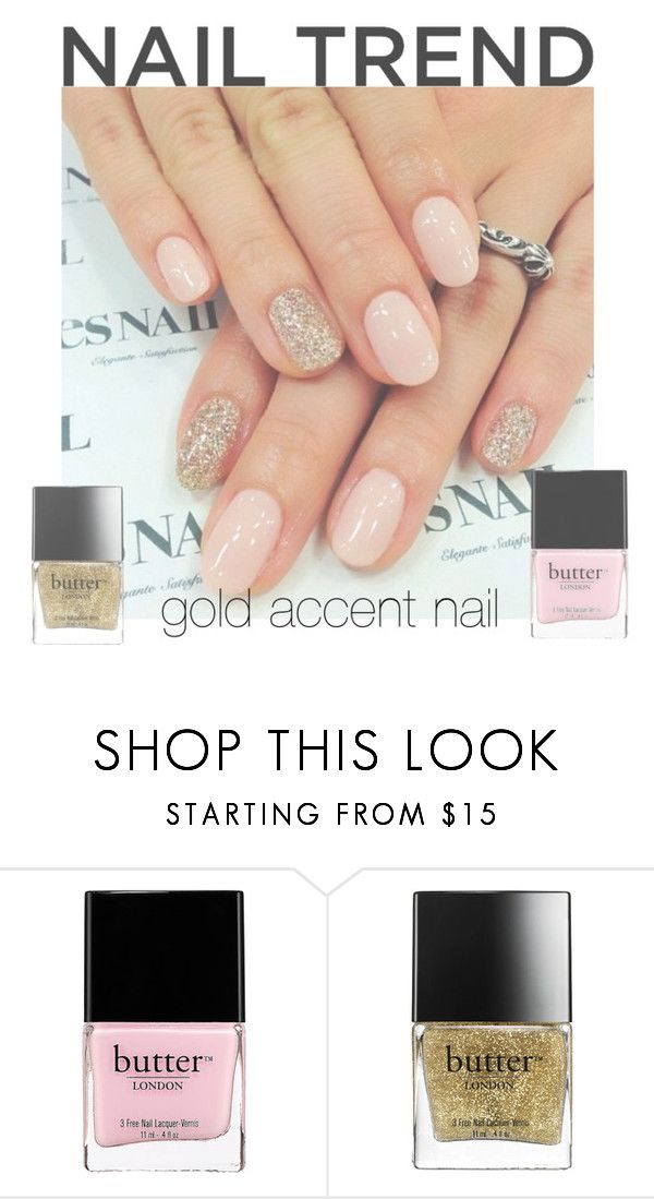 NAIL TREND by michellepach on Polyvore featuring beauté, Butter London, contest and nailtrend