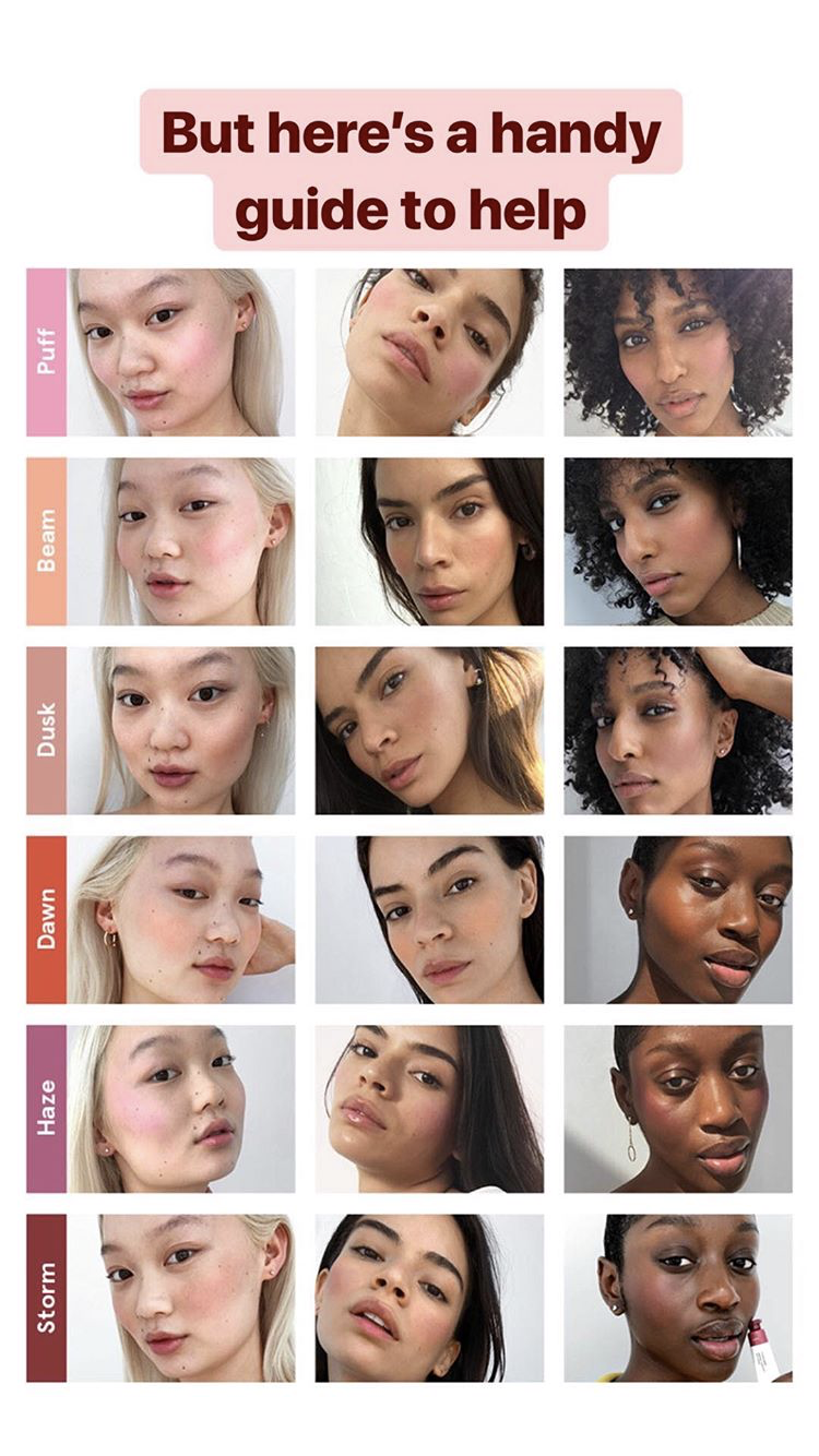 Glossier cloud paint color guide Best natural makeup