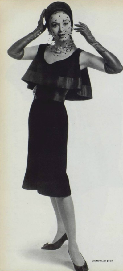 1961 Christian Dior - L'Art et la Mode 1961 No.1